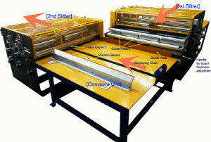 Wholesale kickers: Paper Honeycomb Board Slitter-dual