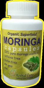 Wholesale foil stand up pouch: Moringa Capsules