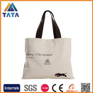 Wholesale recycling jute bag: TATA Heavy Duty Custom Blank Canvas Wholesale Tote Bags