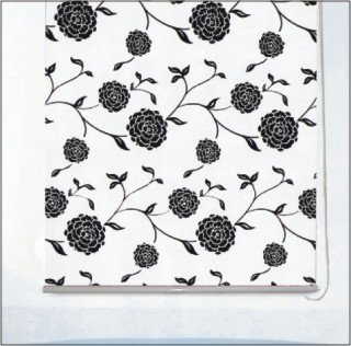 Ball Chain System Fabric Roller Blind