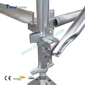 Wholesale construction materials: Hot Dipped Galvanized Painted Q235 Q345 Material Quick Erect Construction Kwikstage Scaffolding