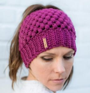 Wholesale ladies fashion hat: Ladies Fashion Knit Hat