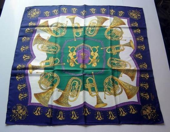 Silk or Polyester Printed Scarf