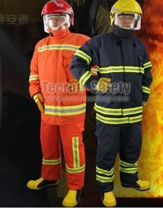 Wholesale flame resistant zippers: CE EN469 Approved Fire Suit