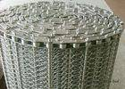 Wholesale plate sterilizing equipment: SUS304 Spiral Woven Stainless Steel Wire Belt Argon Welding ISO9001 For Baking