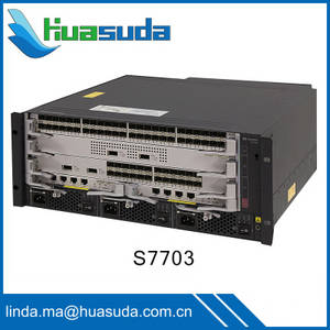 Wholesale challenger 9: Huawei S7700 S7703 S7706 S7712 Routing Switches 100GE Switching Capacity for Large Campus Network