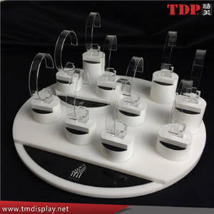 Wholesale display stand: Factory Custom Acrylic Plastic High End Watch Display Stand
