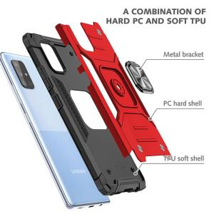 Wholesale tpu: Tenchen 2 in 1 Hybrid PC Tpu Rugged Shockproof Armor Case Finger Ring Holder Phone Case for Iphone