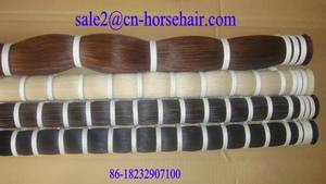 Wholesale violin: Fine Quality of Violin Bow Hair,Long Horse Tail Hair