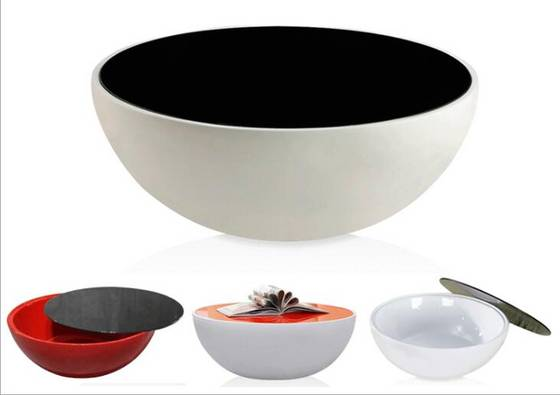 Sell New Half Ball Shape Round Bowl Fiberglass coffe Table