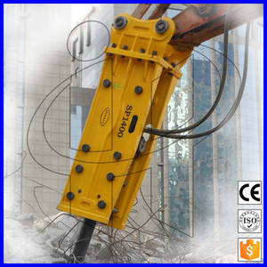 Wholesale drilling services: Fine After Sale Service Hydraulic Breaker Drilling Mini Rock Hammer Low Price Good Quality