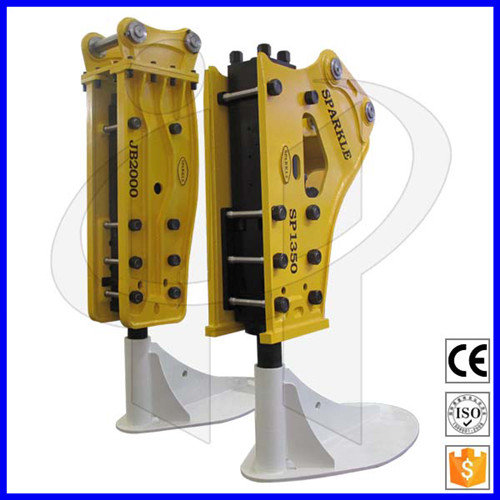 CE/TUV Certificated Factory Supply High Efficiency Lower Noise Excavator Breaker Hammer