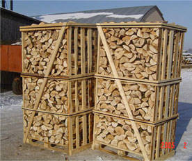 Wholesale net bag: Kiln Dried Firewood with Low Moisture (15-20%) On Pallets and On Net Bags