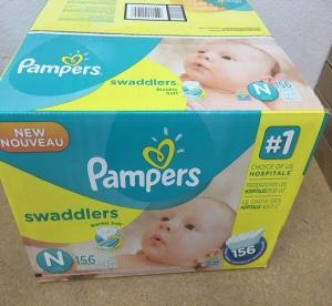 Wholesale baby disposable diapers: Pampers Baby Dry 228 Count Size 2 Disposable Diaper