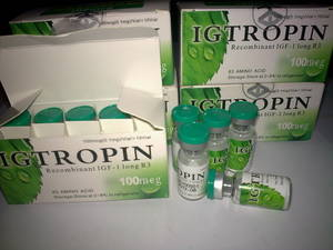 Wholesale kit: IGTROPIN 1000mcg Kit,IGF-1 LR3,IGF,IGF1 LR3,Real Hot Selling