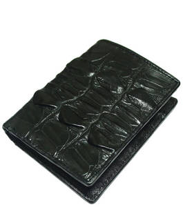 Wholesale leather wallet: Crocodile Leather Wallet S006