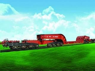 Railway Wagon, Railway Heavy Duty Wagon, Railroad Heavy Duty Car