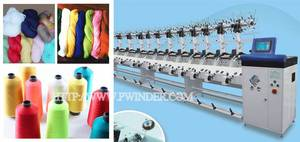 Wholesale cotton waste: TH-16 Hank To Cone Winding Machine