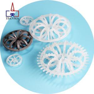 Wholesale pvdf: Plastic Random Tower Packing PP RPP PVC CPVC PVDF Plastic Flower Ring Plastic Teller Rosette Ring