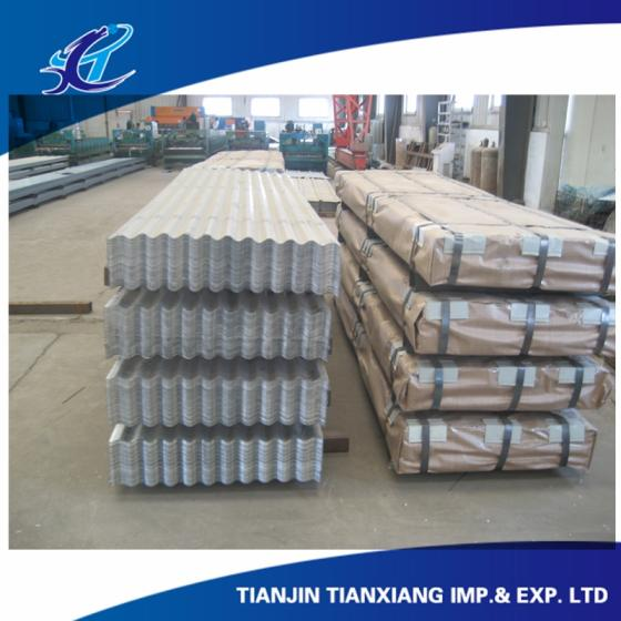 Sell Soft Galvanized Corrugated Steel Roofing Sheet