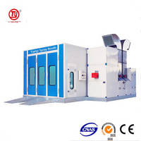 Big Size Bus Spray Booth / Truck Painting Oven / Pickup Trucks Baking Room