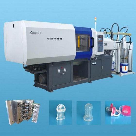 Horizontal Liquid Silicone Rubber (LSR) Injection Molding Machine TYM-W3535