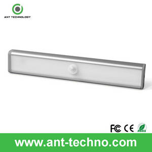 Wholesale led cabinet light: 10 LED Bright Wireless PIR Motion Sensor Light Cabinet Wardrobe Drawer Lamp