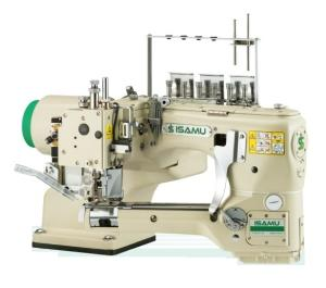 Wholesale sewing machines: 4-Needle 6-Thread Feed-Off-The-Arm Interlock Flatseamer Sewing Machine