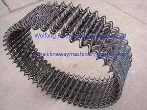 Weifang Fineway Machinery Co ,Limited - auger flights