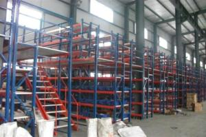 Wholesale mezzanine floor: Multi-level Warehouse Storage Steel Mezzanine Floor Rack for Industrial Use