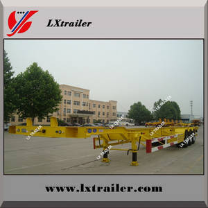 Wholesale top brand tires: 20ft Container Trailer Truck, 40ft Container Trailer Truck China Suppliers