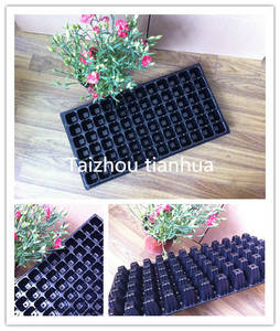 Wholesale Flower Pots & Planters: PS Material Seedling Black Hole Tray with Different Thickness