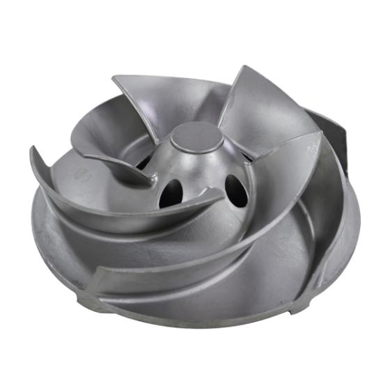 Aluminium Impeller Investment Casting Process Steel Casting Pump Impeller