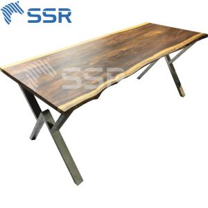 Wholesale wood table: Wenge Live Edge Wood for Countertop Worktop Table Top