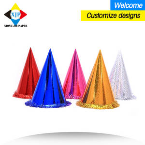 Wholesale hat: China Paper Printing Manufacturer Paper Party Hats Christmas Hats Gift Hats for Sale