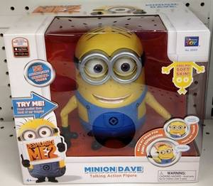 Wholesale Action Figure: Despicable Me 2 Talking Minion DAVE