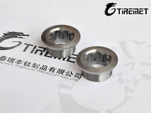 Wholesale bicycle wear: Titanium Nuts