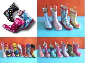 Wholesale rain boots: New Fashion Kid Rain Boot, Children Rubber Rain Boots, Popular Style Child Rubber Rain Boots