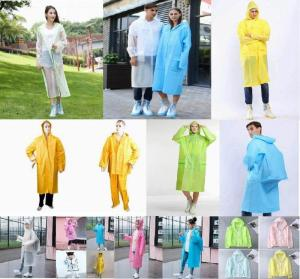 Wholesale waterproofing closure: Various raincoat