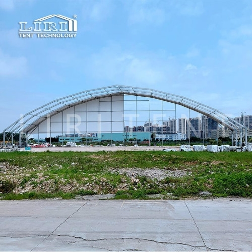 Liritent 60m Clear Span Outdoor Huge Polygon Steel Tent Big Event Tents Exhibitions Marquee