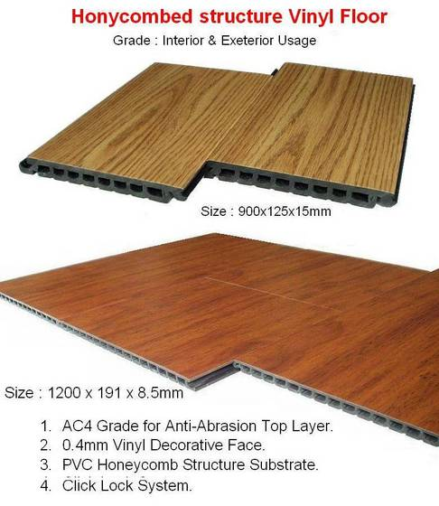 Sell Honeycombed Pvc Flooring Id 2651726 From Tomrich