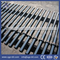 HEX22 Shank108mm Plug Hole Integral Drill Steels for Quarry...