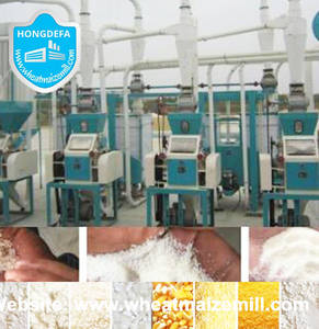 Wholesale flour mills machinery: Pop Maize Flour Grinding Mill Machinery