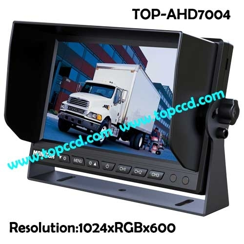 Sell HD 1080P Heavy duty 7inch digital monitor Built-in Quad (TOP-AHD7004)