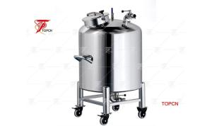 Wholesale fruit bar: Square Stainless Steel Storage Tank for Food