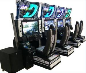 Wholesale car electronics: Initial D 8 Electronic Car Racing Game Machine Amusement Equipment Dedicated Machine