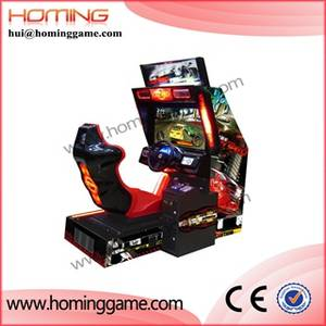 Wholesale arcade: China Supplier Crazy Speed Racing HD Car Game Machine / Amusement Arcade Simulator Car Racing Game