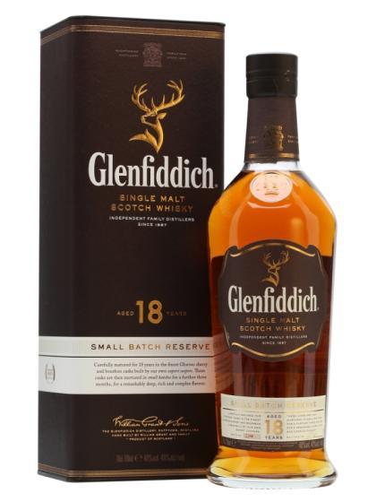 Glenfiddich 18 Year Old 700ml X 1