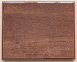 Wholesale Wood Crafts: Walnut Piano Finish Plaque