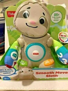 Wholesale music: 100% Original New Fisher-Price Linkimals Smooth Moves Sloth with Music & Lights
